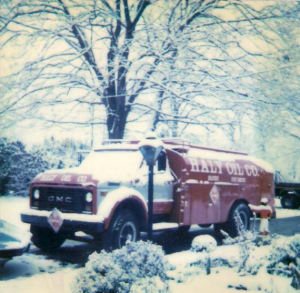 First Haly Oil Truck