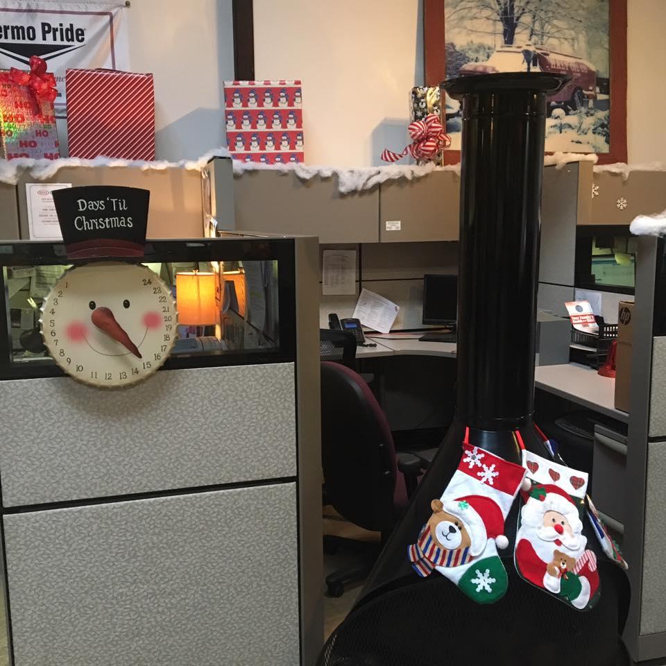 Christmas Countdown Snowman Clock