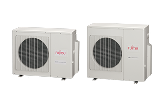 Fujitsu Ductless Cooling System